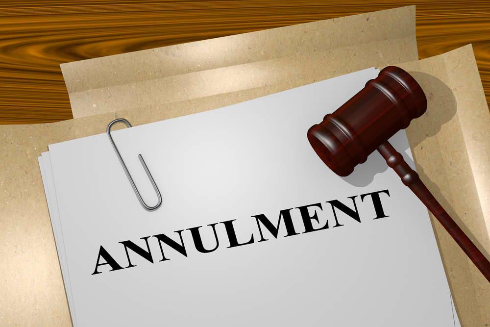 annulment process